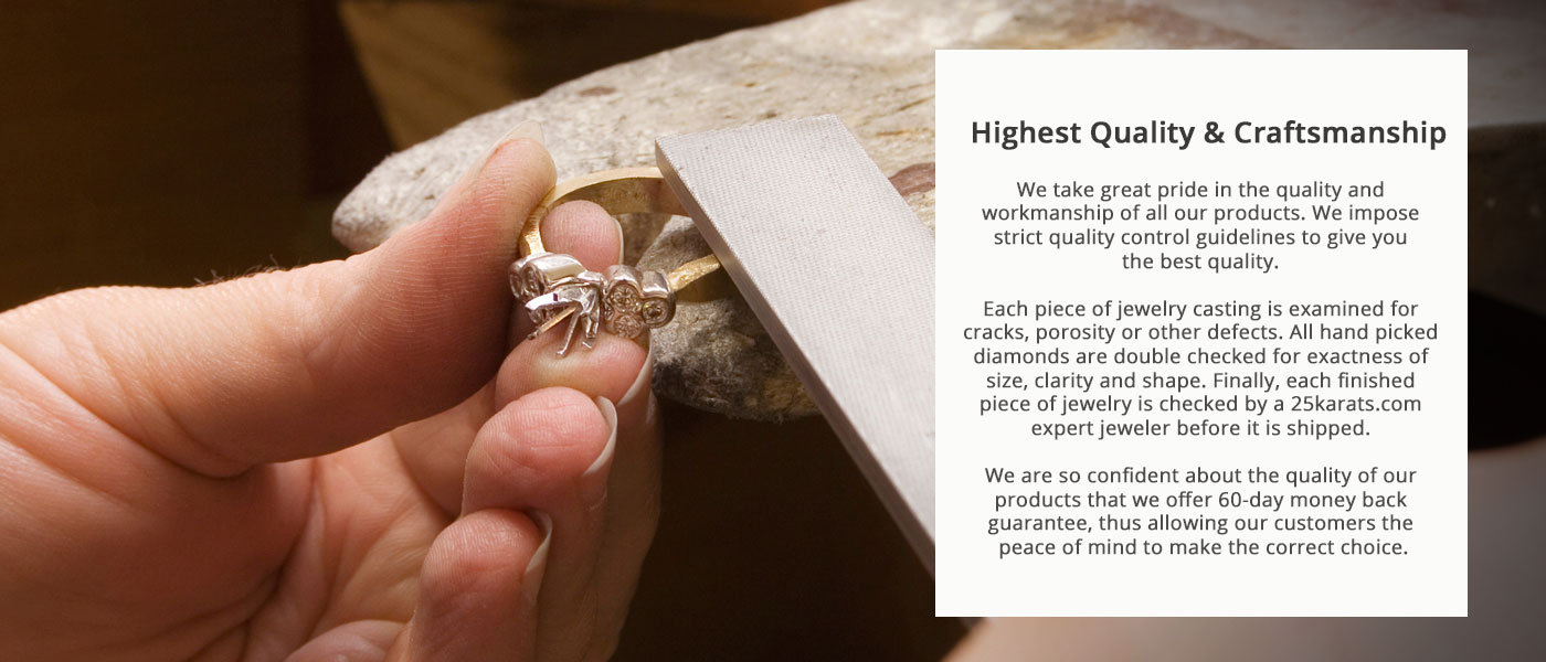 High quality jewelry text