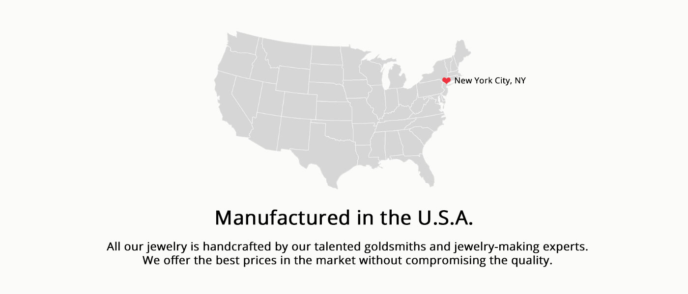 Made in usa text