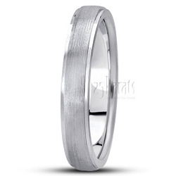 Basic carved wedding ring