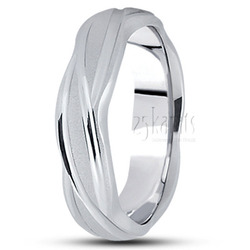 Diamond cut fancy wedding ring