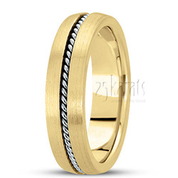 Hand made hand woven wedding band