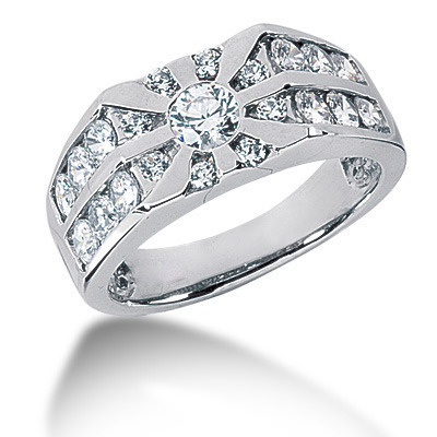 Round Men S Diamond Rings Wedding Bands And Rings For Men By