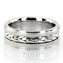 Hm007 hand made wedding ring