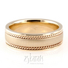 Hm002 hand made wedding band