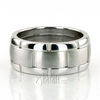 Fc100304 fancy carved contemporary wedding band