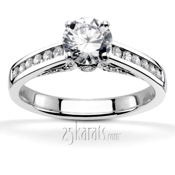 ritani set channel engagement rings setting