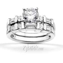 Ens7930 b eye catching this sleek bar set diamond ring features combination stones