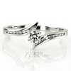 Ens6140 r chic this bestseller engagement ring features channel setting