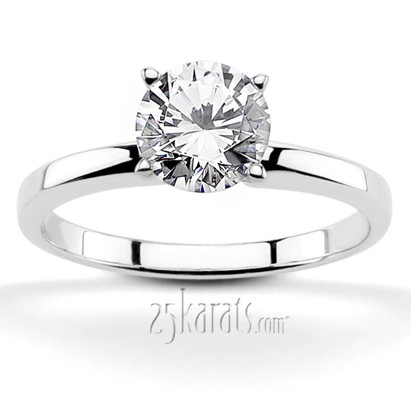 enr3261 - Solitaire Wedding Rings