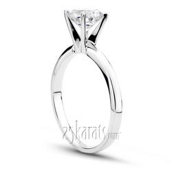 Classic 4 prong tiffany setting solitaire