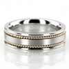 Hc100250 bestseller satin hand braided wedding ring
