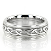 Hc100259 a traditional sleek style this 7mm wide celtic wedding ring