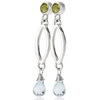 Celebrity couture dangle earrings