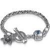 Charm bracelet couture sterling silver