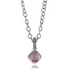 Morganite topaz necklace pendant