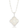 Sara blaine mother of pearl necklace pendant