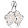 Sara blaine sterling silver white mother of pearl earrings
