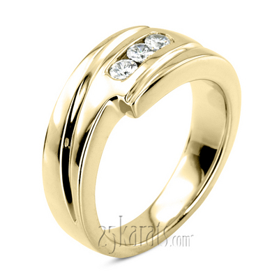 Diamond Finger Ring For Man