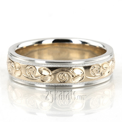 mens best wedding two in yg etched diamonds our yellow gold nl fascinating rings engraved tone bands band collection blog unique