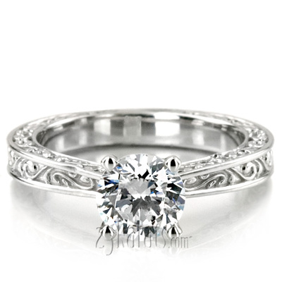 Solitaire Engagement Rings Loose Diamonds Mountings At