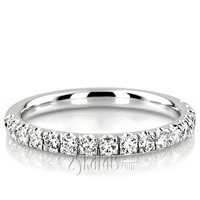 Engagement ring enchanter wedding band with diamonds