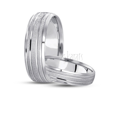 hh ba100552 fine stoned basic designer wedding ring set - Simple Wedding Ring Sets