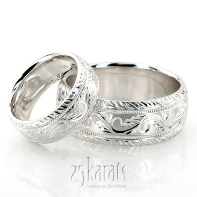 hh fc100335 - His And Hers Wedding Ring Sets