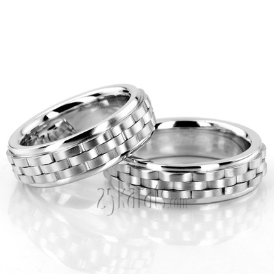 Rolex Wedding Band Sets His and Hers Wedding Bands Matching
