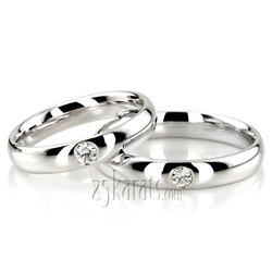 Wedding band set hh dwb1948