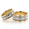 Wedding band set hh hc100140