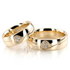 Wedding band set hh dw101343 l