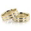Wedding band set hh tt207 ywy