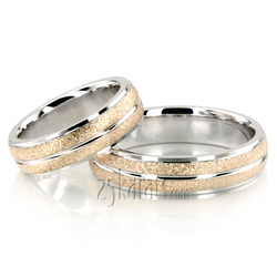 Wedding band set hh ba100170 stone finish