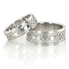 Wedding band set hh 146