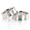 Wedding band set hh 145