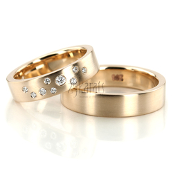 Wedding band set hh 157