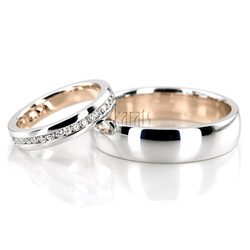 Wedding band set hh 160