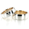 Wedding band set hh 165