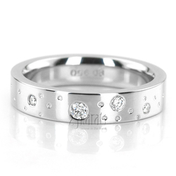 Wedding band set hh 156