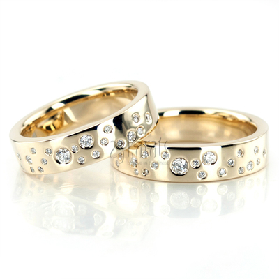 Wedding band set hh 167