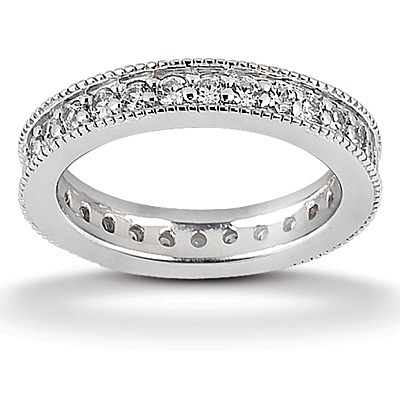 eternity wedding bands and rings 25karats